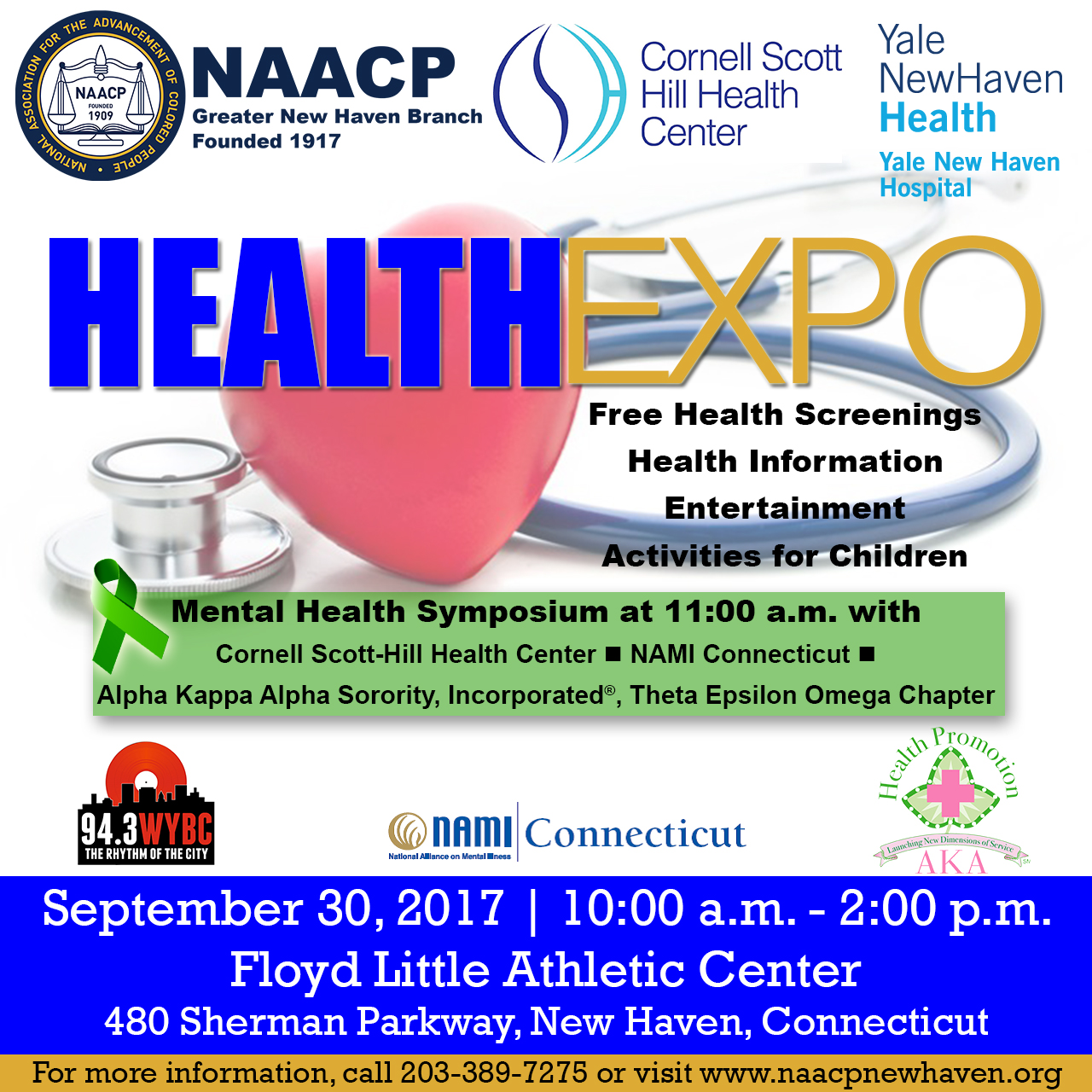 NAACP Health Expo Flyer